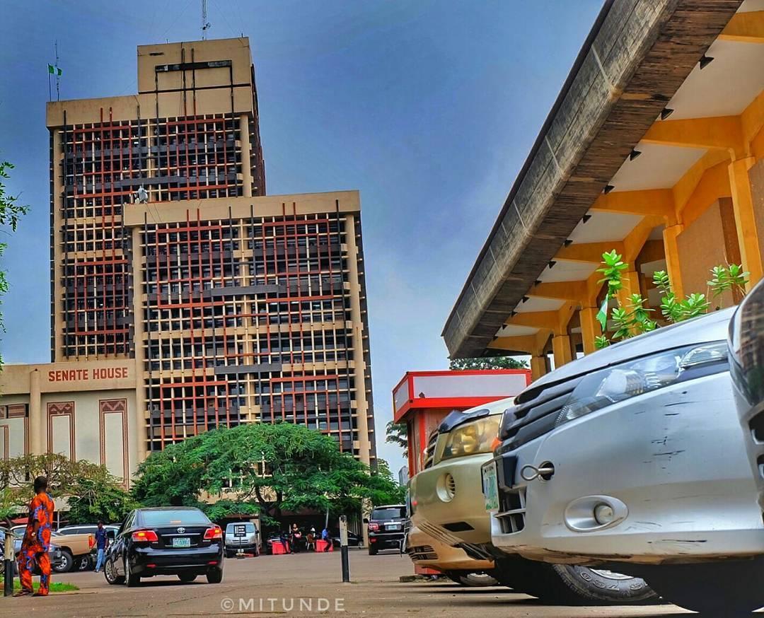 Senate House, University of Lagos (UNILAG). Photo: Punch Newspaper